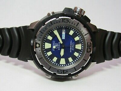 $ CDN389.25 • Buy Rare Skz245 Seiko Frankenmonster Blue Dial Automatic Diver Watch 7s36-02s0