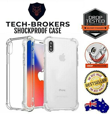 AU4.50 • Buy Apple IPhone 12 11 Pro Max 6 7 8 Plus X XR TPU Case Heavy Duty Shockproof Cover