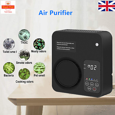 View Details Ozone Air Purifier Purifier Ioniser Cleaner For Smoker Dust Allergies Pet Pollen • 33.95£