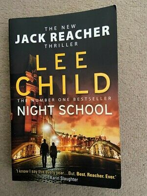 First Edition Night School: Jack Reacher 21 By Lee Child (Paperback) • 4£