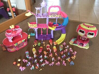 £40 • Buy My Little Pony Bundle Mini Figures, Castle, Cars And 2 Houses * Collection Only