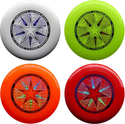 Discraft Ultrastar Catching Throwing Flying Disc Outdoor Fun Game Frisbee 175gm • 15.49£