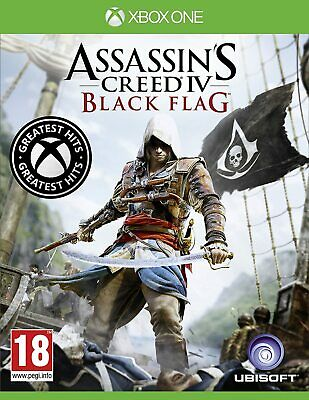 £15.49 • Buy Assassin's Creed IV 4 Black Flag Xbox One Brand New Factory Sealed Assassins