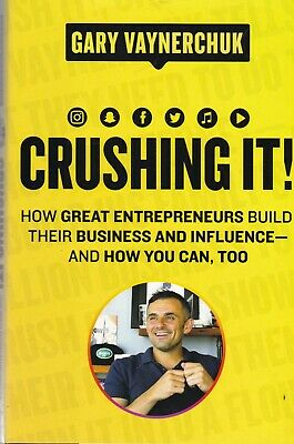 AU21.72 • Buy Crushing It! How Great Entrepreneurs Build Business And Influence Hardback Book