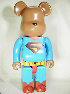 $599.99 • Buy MEDICOM TOY 400% Bearbrick BE@RBRICK DC SUPERHERO SUPERMAN RETURNS 1pc