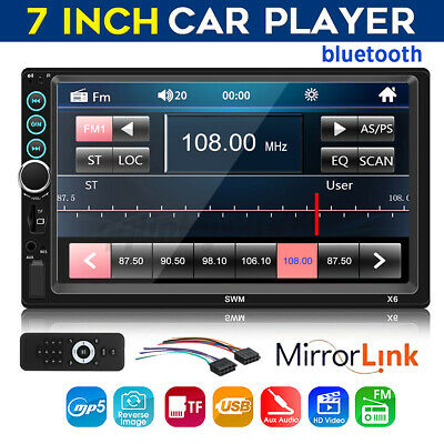 AU51.69 • Buy 7  Inch 2 Din Bluetooth Car Radio Stereo MP5 Player FM USB AUX Mobile Internet