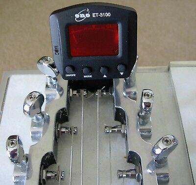$ CDN22.80 • Buy Pedal Or Lap Steel Guitar Clip On Tuner
