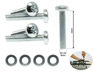 M8 X 45mm TV Wall Mount Bracket Pan Head Phillips Screws For Samsung TV • 3.99£