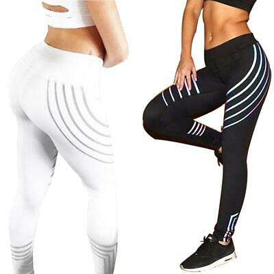 Women Yoga Sportswear Leggings Slim Fit Printing Workout Trousers Clothes *DC • 9.17£
