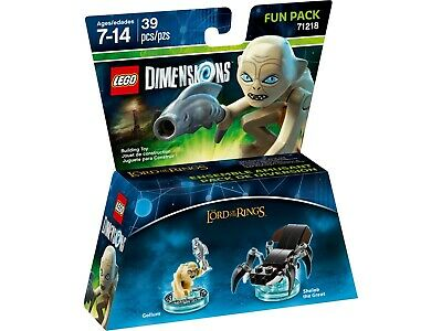 Lego Dimensions - 71218 - Fun Pack - Lord Of The Rings Gollum - NEUF - Scellé !! • 22.25£