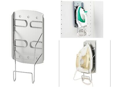 Iron Holder Steel Wall Mounted Ikea Variera Storage Cord Plate Steam Stand New • 9.69£