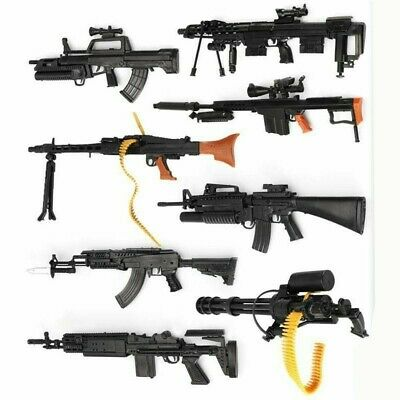 £7.18 • Buy 1/6 Scale Toy Gun Assembly Model Weapon