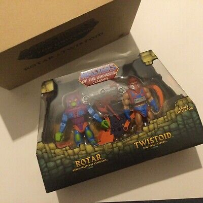 $58.95 • Buy MOTUC Masters Of The Universe Classics Rotar And Twistoid W/ Mailer MISB