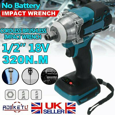 Replace For MAKITA DTW285Z 18V Cordless Brushless Impact Wrench Driver 1/2  1/4  • 24.99£