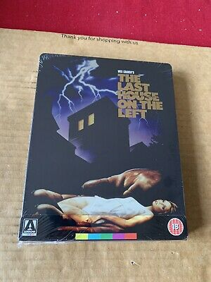 £18.99 • Buy The Last House On The Left Arrow Video Blu Ray Steelbook NEW & SEALED Wes Craven