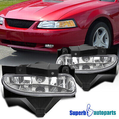 $29.98 • Buy For 1999-2004 Ford Mustang Fog Lights Driving Bumper Lamps GT V6 W/ Switch