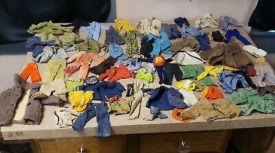 $ CDN223.28 • Buy Vintage Gi Joe Adventure Team And Other Action Figures 1960s 1970s Clothes Lot
