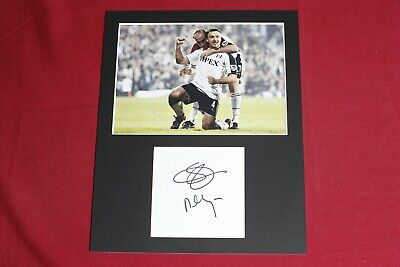£25 • Buy Steed Malbranque Fulham Genuine Hand Signed 10x8 Photo Display