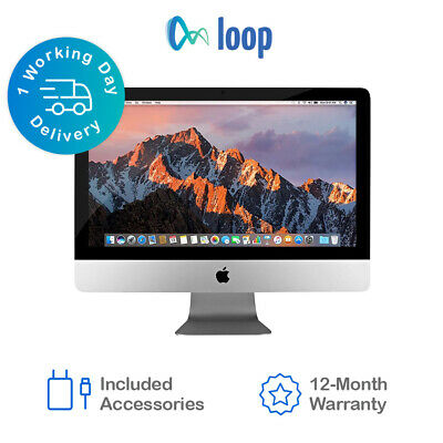 Apple IMac Core I5 1.6GHz 21.5 Inch Late 2015 1TB HDD 8GB Ram - Excellent • 499.99£
