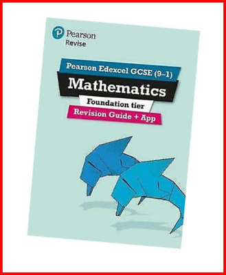£6.22 • Buy Pearson Edexcel GCSE 9-1 Mathematics Foundation Tier Revision Guide + App: And