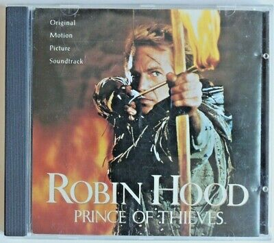 CD - Robin Hood Prince Of Thieves Original Motion Picture Soundtrack - Preowned • 7.99£