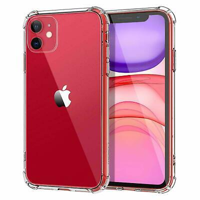 AU3.95 • Buy Clear Case For IPhone 6,7,8, Plus, X, XS Max, XR Shockproof Silicone Protective