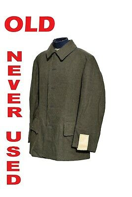 Vintage Swedish Army Fitted Wool Coat / Jacket / Tunic WWII Model2 • 24.99£