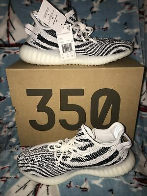 $ CDN493.07 • Buy Adidas Yeezy Boost 350 V2 Zebra Men Size 9.5