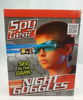 Spy Gear Night Goggles Adjustable Head Strap 2 LED Lights See In The Dark Age 6+ • 27.51£