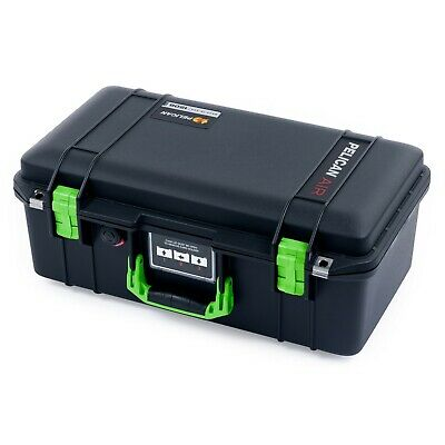 £131.59 • Buy Black & Lime Green Pelican 1506 Air Case With Foam.
