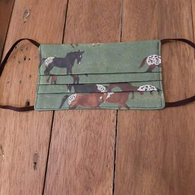 Appaloosa   Horse Designer Fabric Facemask Transport .shopping Facecover • 5.99£