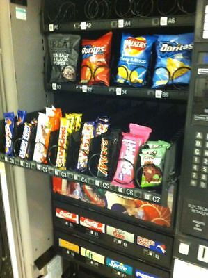 £1320 • Buy Combination Vending Machine Snacks & Drinks Cashless System Fitted
