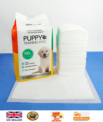 £16.99 • Buy Puppy Dog Training Pads PACK Of 100 Large 56x56cm House Pets Toilet Pee Wee Mats