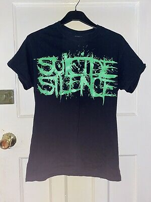 Suicide Silence Deathcore Band Tshirt 'Pull The Trigger' • 9£