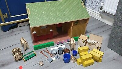 £69.99 • Buy RARE RETIRED BRUSHWOOD TOYS EQUESTRIAN CENTRE 1:12 SCALE BT1000 With Accessories