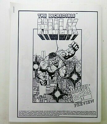 £474.35 • Buy Marvel INCREDIBLE HULK FUTURE IMPERFECT 1992 #1 Rare PREVIEW Maestro Ships FREE!