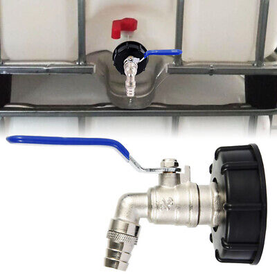 3/4  IBC Outlet Tap Adapter 1000L Tank Rainwater Container Fitting Connec PS • 10.69£