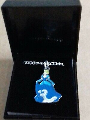 Disney Princess Cinderella Necklace  New. 18 Inch Chain. Gift Boxed. Free Post. • 2.99£