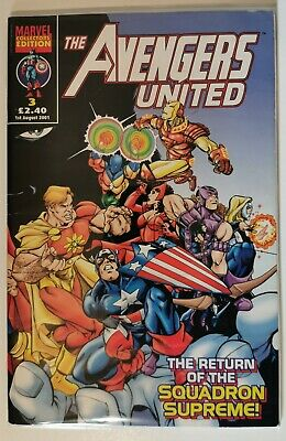 Marvel Comics The Avengers United #3 August 1st  2001 COLLECTORS EDITION. • 5.99£