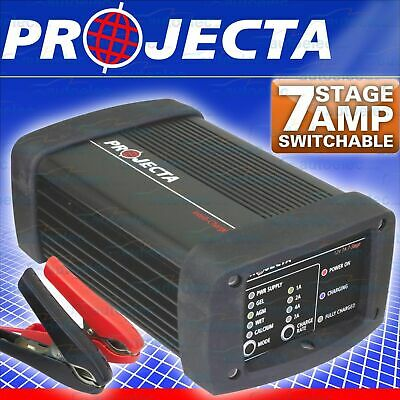 AU255.34 • Buy Projecta Ic700W Battery Charger 12V Volt 7A 4A 2A Amp 7 Stage Agm Deep Cycle Car