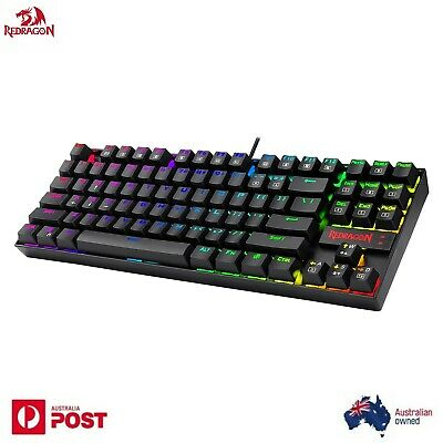 AU85 • Buy  Redragon K552-RGB Mechanical Gaming Keyboard LED Backlight 87 Keys Blue Switch
