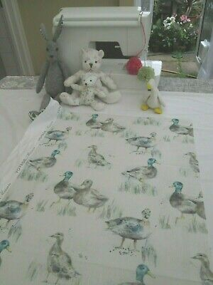 BN Soooo Lovely Very High Quality Voyage Decoration Fabric In Darling Ducks • 1.99£