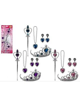 Fairy Princess Set Accessories Set Tiara Crown Magic Wand Jewellery Gift • 2.99£