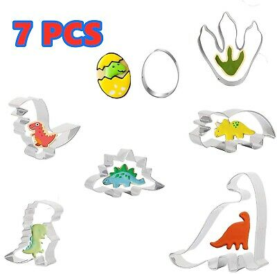 8 Cookie Cutters Peppa Pig Cartoon Biscuit Pastry Stainless Steels Baking Mold • 5.99£