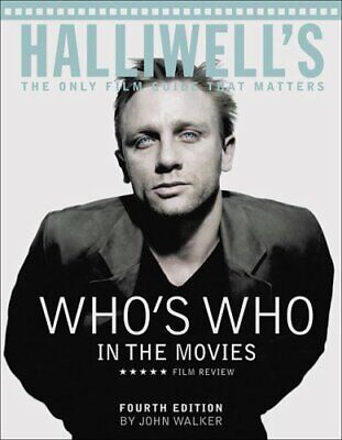 £4.08 • Buy Halliwell's Who's Who In The Movies : The Only Film Guide That Matters Perfect
