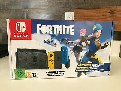 $650 • Buy Nintendo Switch Fortnite Special Edition - Fortnite Wild Cat Console Bundle Code