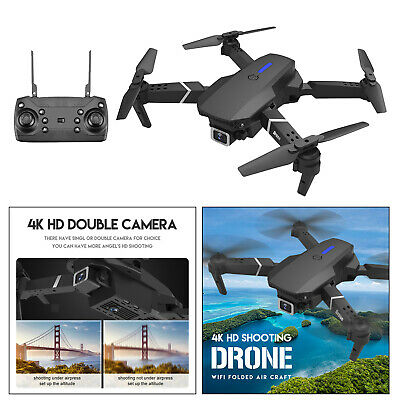 AU55.60 • Buy 1Set Drones With Camera For Adults Long Flight Time Drone Quadcopter Drone Black