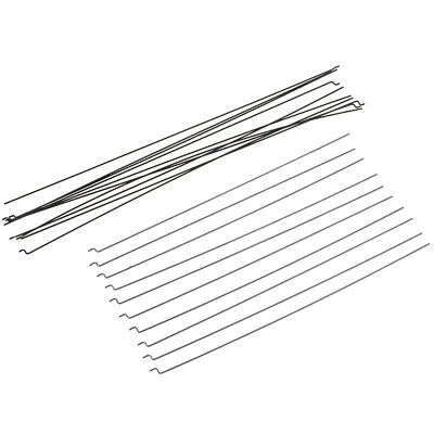 10Pcs Z Type D1.2mm Steel Wire Push Pull Rod Pushrod For Rc Aircraft Airplane^ng • 3.61£
