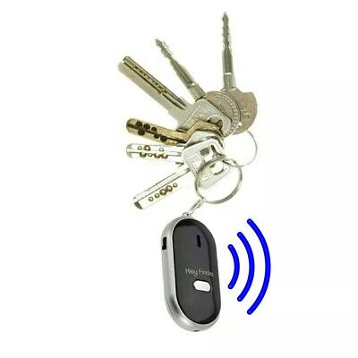 £2.49 • Buy Whistle Lost Key Finder Flashing Beeping Locator Remote Chain LED Sonic Torch