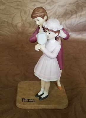 $ CDN12.76 • Buy The Norman Rockwell American Family Porcelain Figurines  New Hat  (1969)